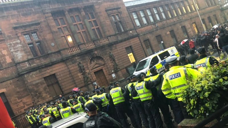 More arrests made following riots in Govan