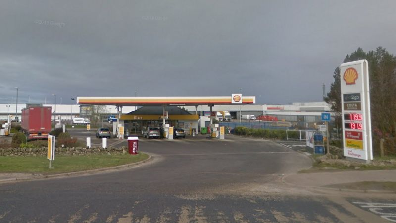 Hunt on for masked man who robbed Aberdeen petrol station