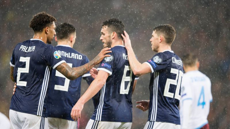 John McGinn delighted to register first career hat-trick for Scotland