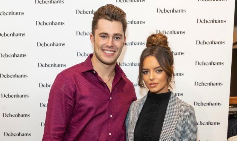 Love Island's Maura Higgins and Curtis Pritchard offical