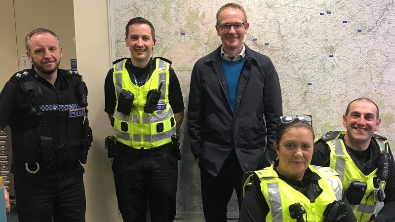 Call for more 'bobbies on the beat' to combat rise in crime in the Borders