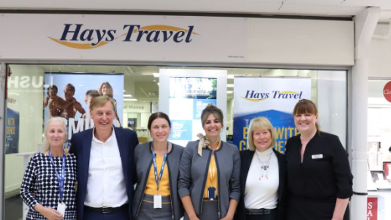 Hays opens up latest Thomas Cook store in Sunderland.