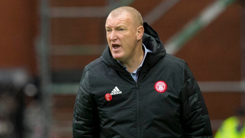 Brian Rice hopes home comforts help Hamilton against Hibs