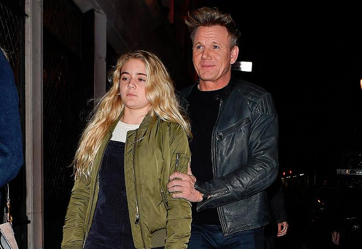 Gordon Ramsey's daughter dating Gino Di'Campo's son