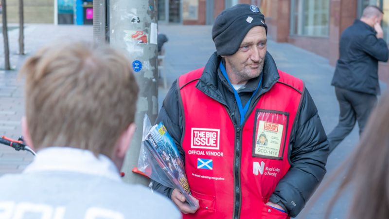 Man to face trial for murder of 'popular' Glasgow Big Issue seller