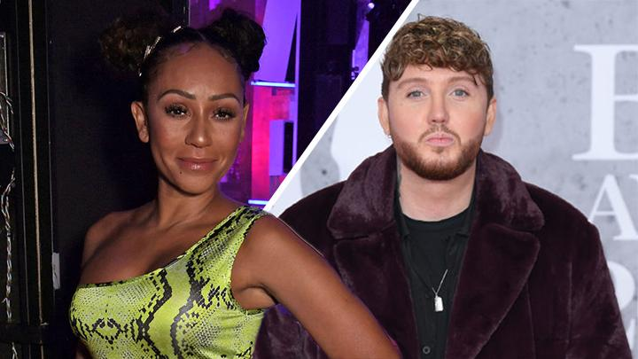 "Mel B and James Arthur reportedly ""had a wild fling"""