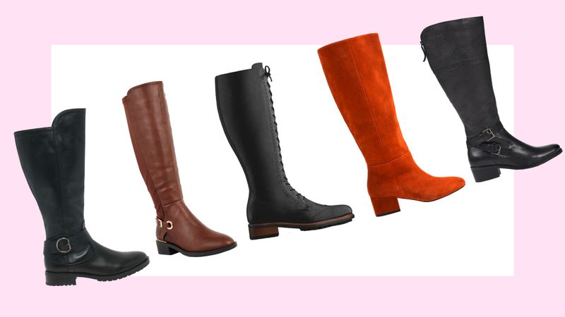 These Knee-High Wide-Calf Boots Are Cool (And Actually Fit)