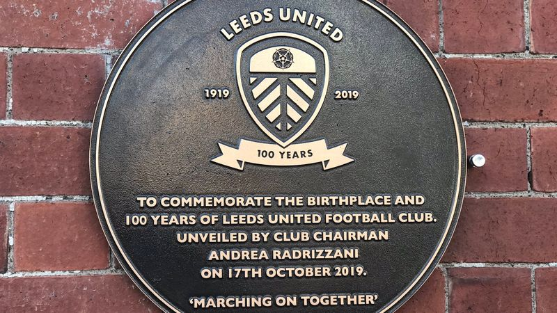 Day of celebrations to mark 100th birthday of Leeds United
