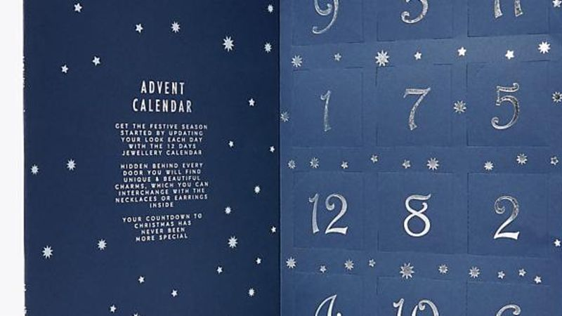 M&S Launch Jewellery Advent Calendar For £19.50 - Grazia Daily