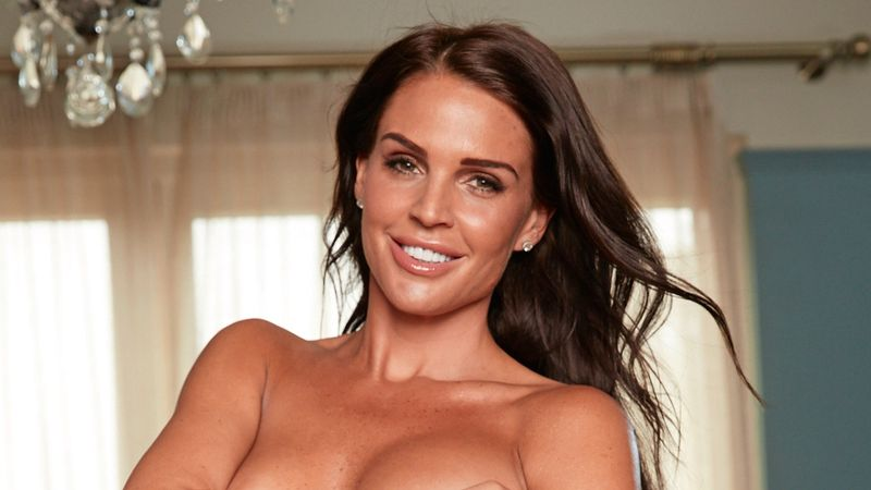 Danielle Lloyd naked photoshoot: 'I love my new boobs and bum'