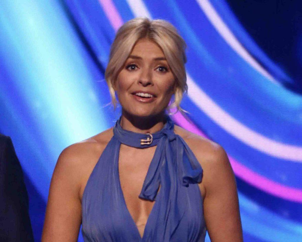 "Holly Willoughby says the Dancing On Ice studio is ""haunted"""