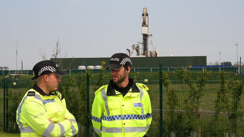 Policing Lancashire fracking site has cost £12million