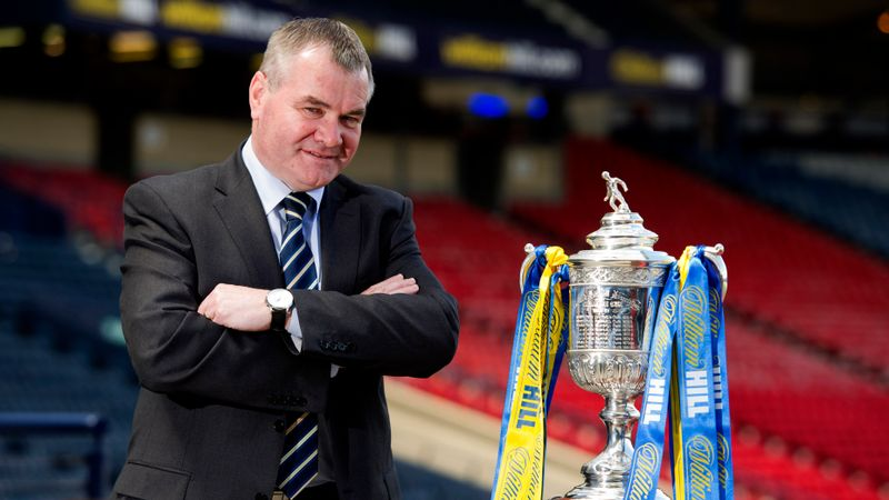 Scottish football pays tribute after death of referees chief John Fleming