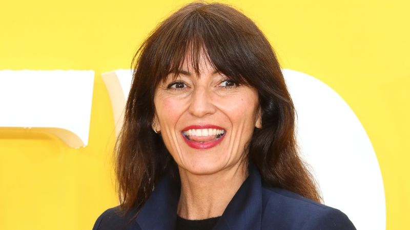 Davina McCall shares sweaty abs after eating chips with every meal