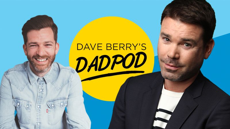 Parenting podcast Dave Berry's Dadpod putting the spotlight on fathers