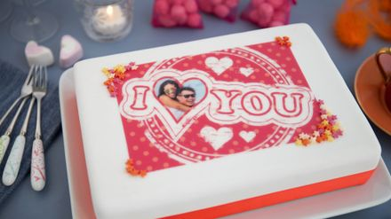 Sensational Print Your Beloveds Photo Onto A Cake At Asda And Morrisons For Personalised Birthday Cards Veneteletsinfo