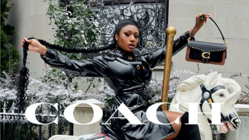 Megan Thee Stallion Is One Of The Stars Of Coach's Christmas Campaign