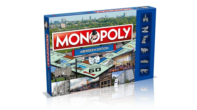 Win the new Monopoly Aberdeen edition