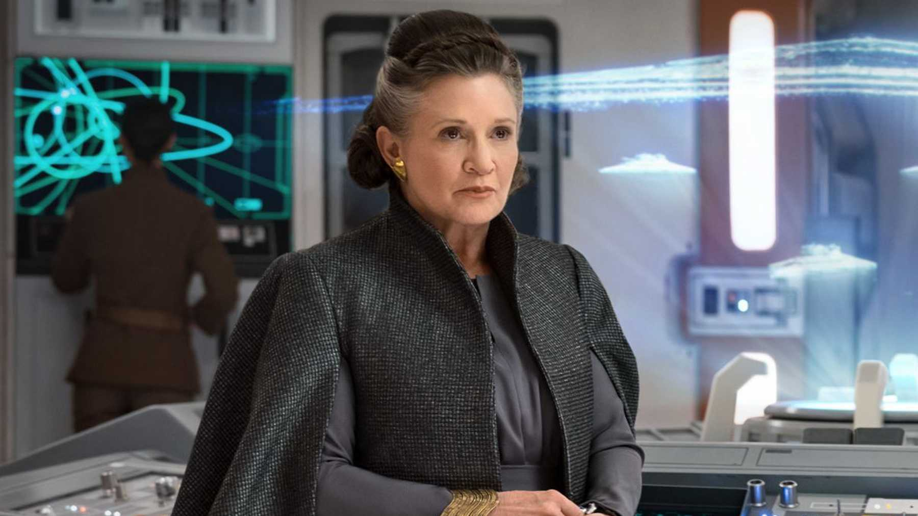 Star Wars Carrie Fisher Was Supposed To Be The Big Action Payoff For The Rise Of Skywalker Movies Empire