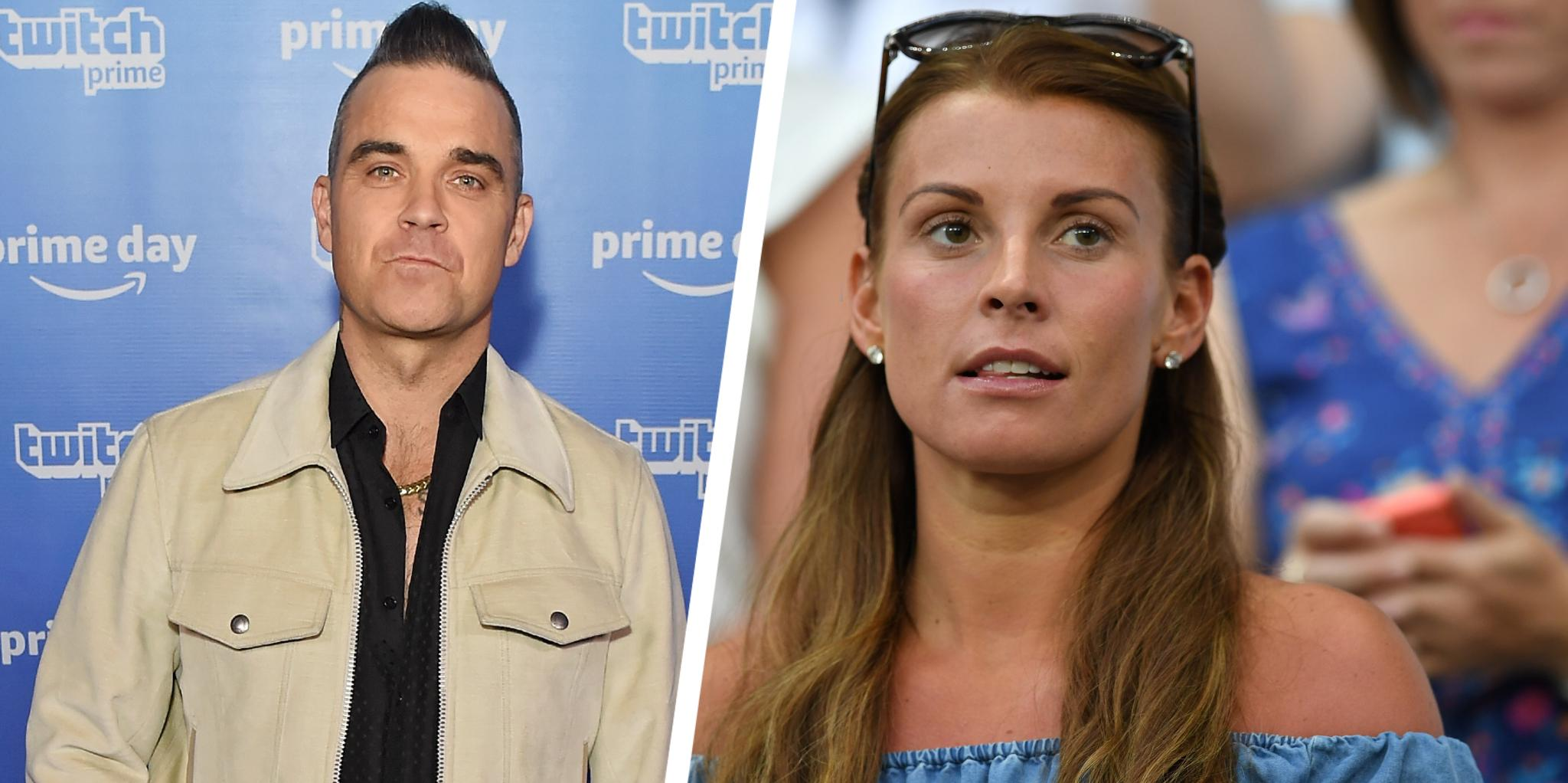 Robbie Williams slams 'dangerous' Coleen Rooney for publicly exposing Rebekah Vardy