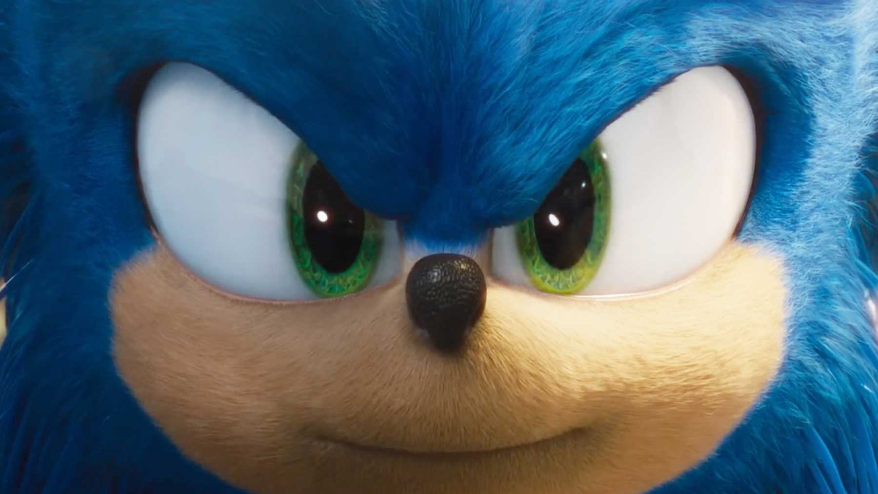 Sonic The Hedgehog Trailer Unveils New Look Sonic Design Movies Empire
