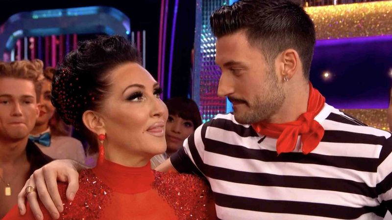 Strictly's Michelle Visage slams feud claims with Giovanni Pernice