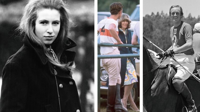 Camilla and Andrew Parker Bowles dated Prince Charles and Princess Anne