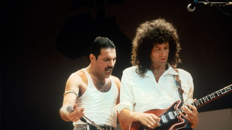 Brian May reveals Freddie Mercury lost a foot during AIDS battle