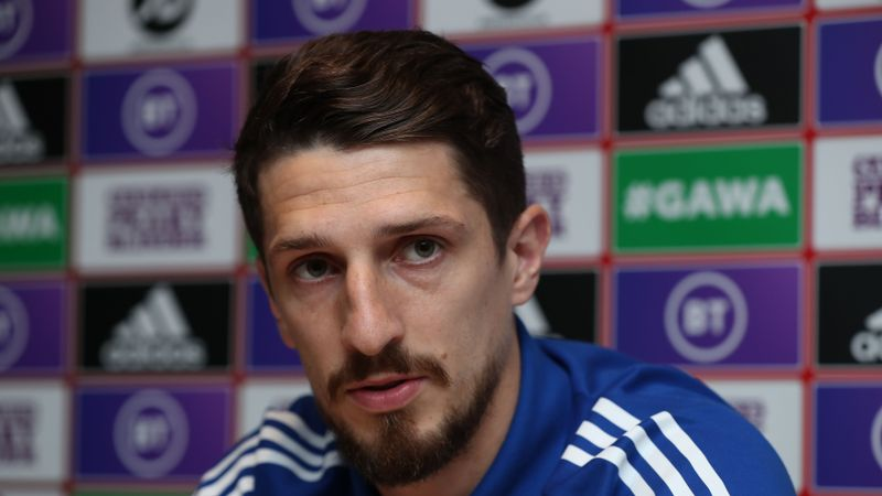 WATCH:'We're desperate for Michael to stay' Cathcart sums up feelings of NI players ahead of Euro qualifers
