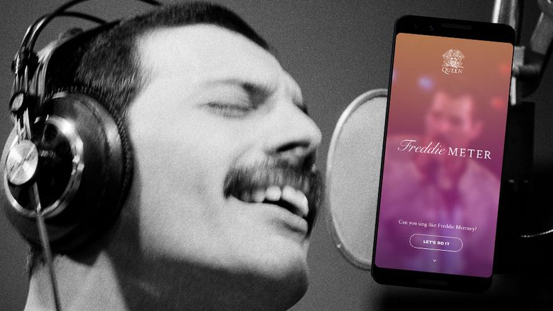 How closely can YOU mimic Freddie Mercury's voice?