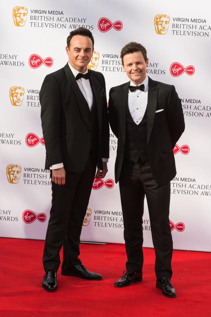 I'm A Celebrity's Ant and Dec post backstage photo during filming