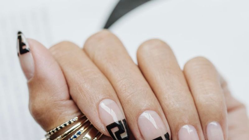 Why Logo Nails Are The Next Big Thing In Manicures