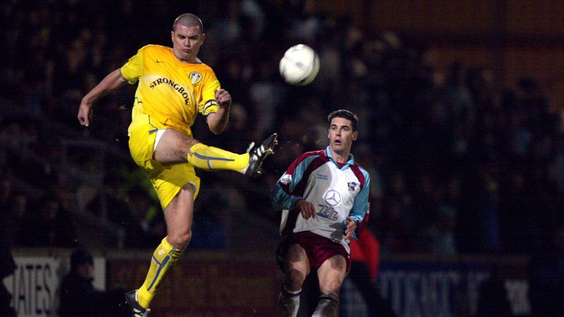 Former Leeds United player Dominic Matteo in LGI with brain tumour