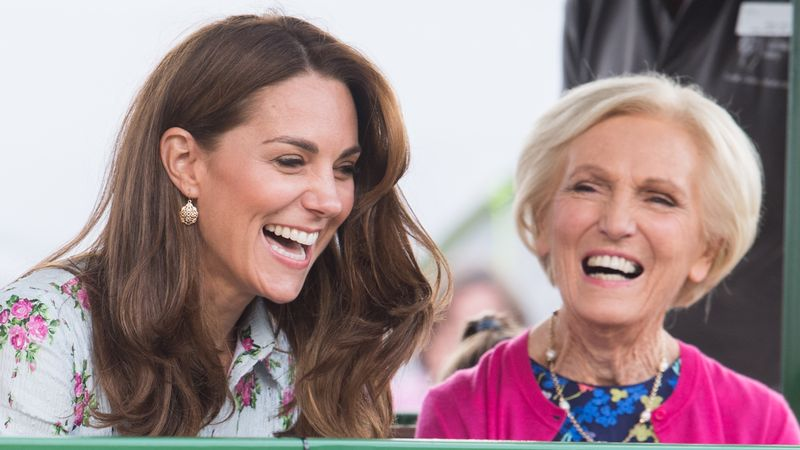Kate Middleton and Mary Berry In Christmas TV Special