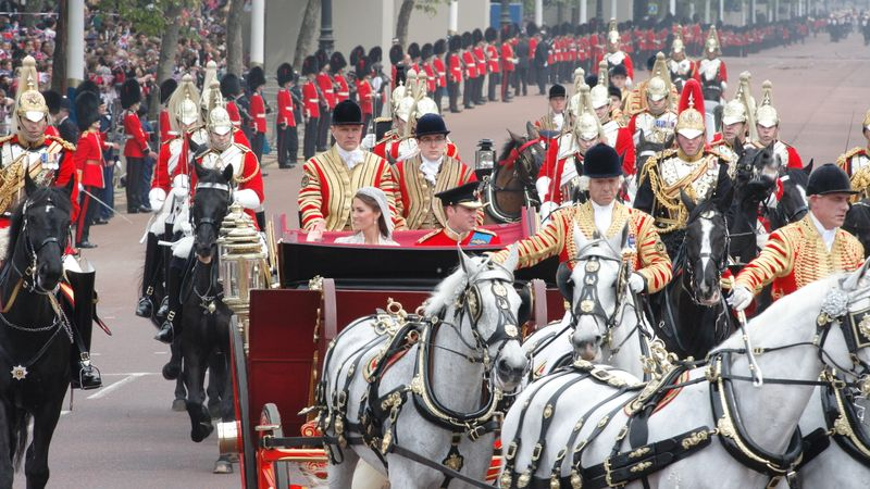 Two Of Kate And William's Wedding Horses Have Retired