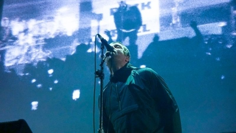 Woman suffers burns after flare thrown at Liam Gallagher gig
