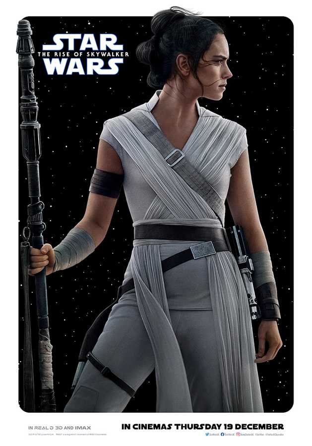 Star Wars The Rise Of Skywalker New Character Posters Feature Rey Kylo And More Movies Empire