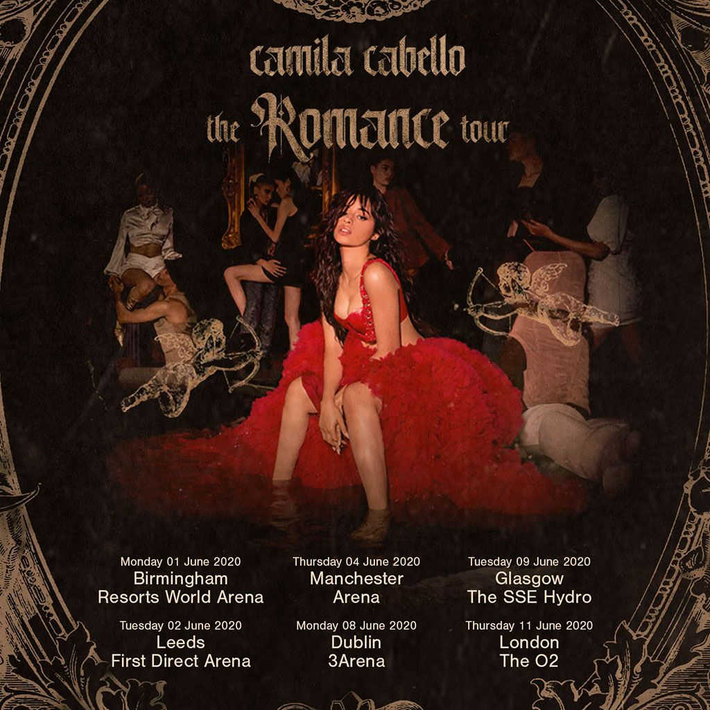 Camila Cabello announces UK & Ireland tour in 2020 for ...