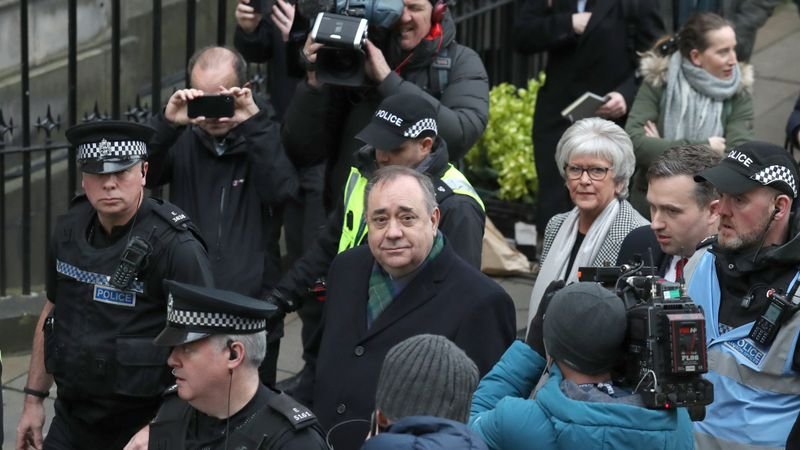 Alex Salmond charged with 14 sexual offences