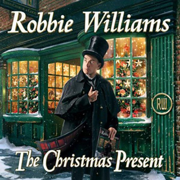 Robbie Williams' Christmas song 'Time For Change' is our first Christmas song of the year