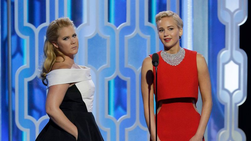 Amy Schumer, Phoebe Waller-Bridge and Jennifer Lawrence