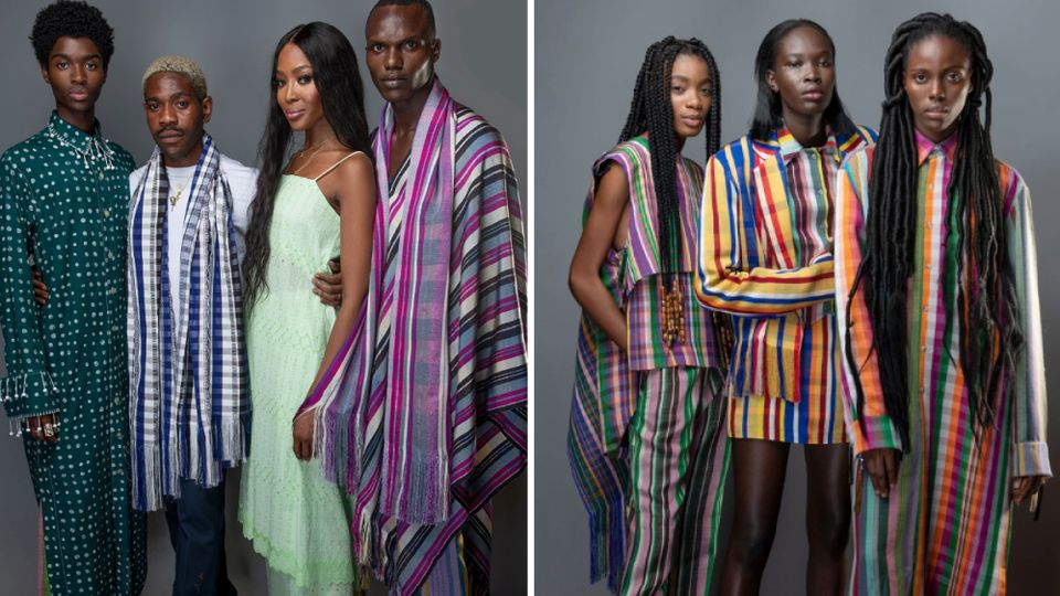 Kenneth Ize The Fashion Designer Loved By Naomi Campbell Is Putting Africa On The Fashion Map Grazia