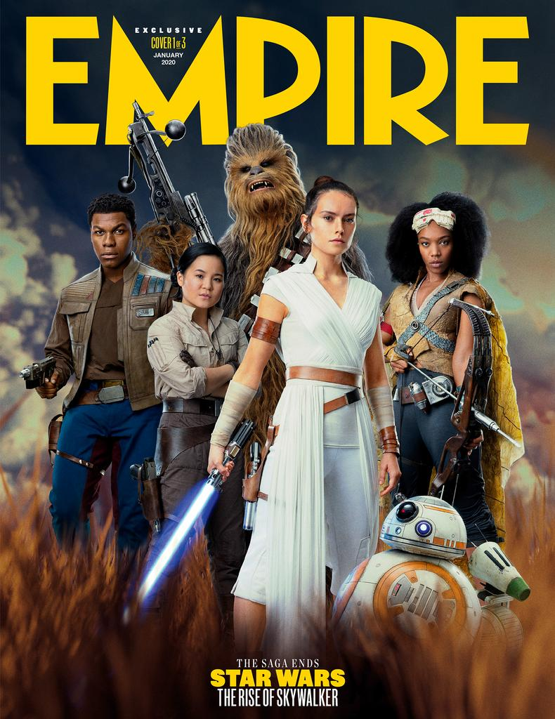 Star Wars The Rise Of Skywalker Empire Covers Feature Dark Rey The Knights Of Ren Assembled And More