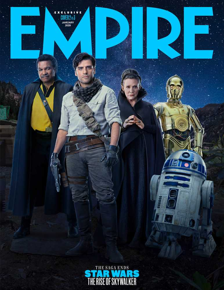 Empire S Star Wars The Rise Of Skywalker Collectors Edition Covers Revealed Movies Empire