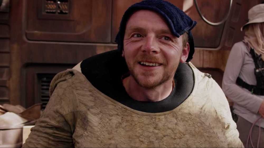 Simon Pegg On Star Wars