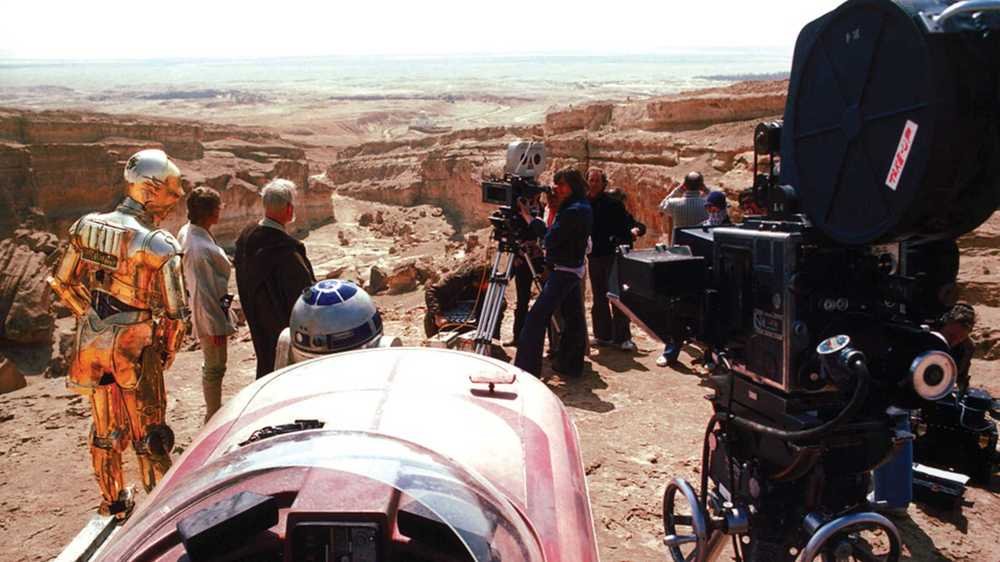71 Awesome Behind-The-Scenes Star Wars Photos