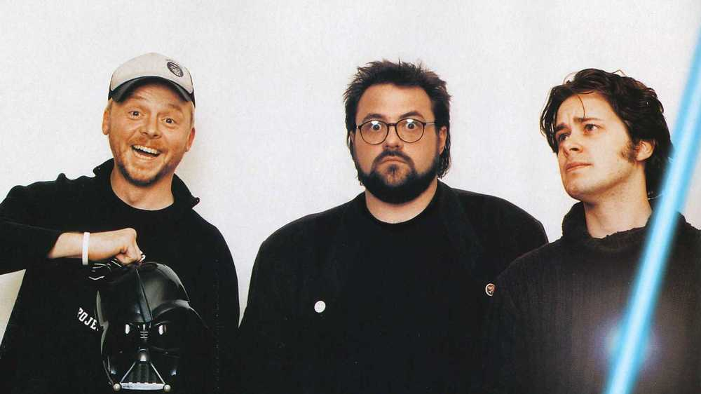 Kevin Smith, Simon Pegg And Edgar Wright Nerd Out on Star Wars