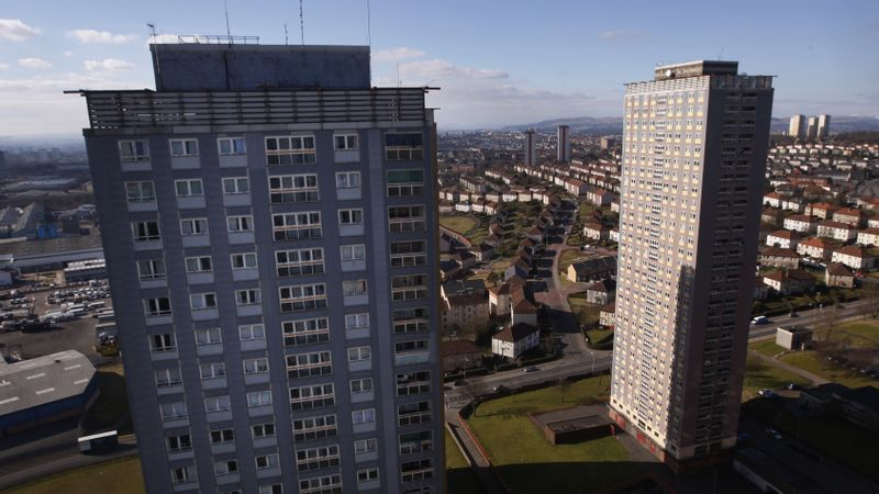 Leaflets sent to high-rise residents in bid to avoid repeat of Grenfell disaster