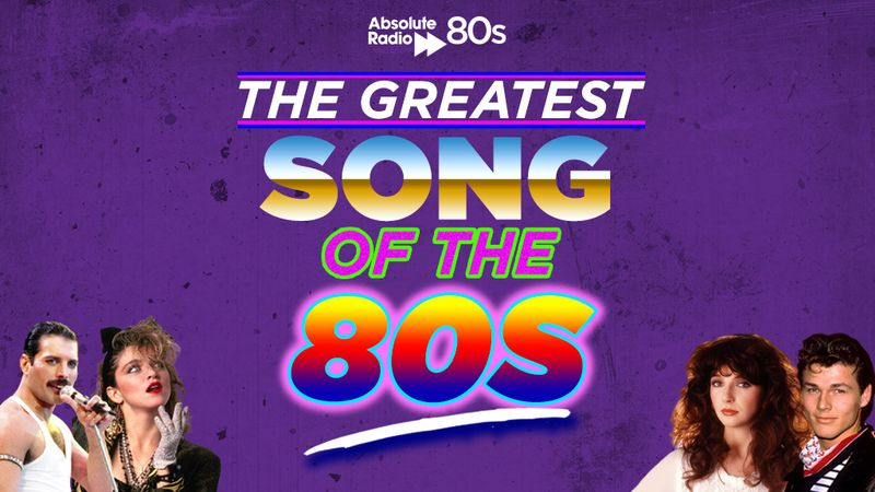 The Greatest Song of the 80s as voted by YOU revealed!
