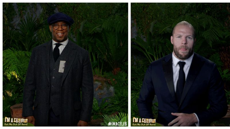Ian Wright And James Haskell's I'm A Celebrity Exit Interviews Prove There's A Right And A Wrong Way To Respond To Toxic Masculinity